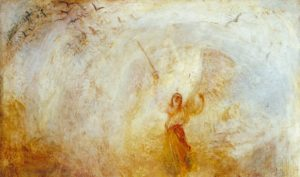 The Angel Standing in the Sun exhibited 1846 Joseph Mallord William Turner 1775-1851 Accepted by the nation as part of the Turner Bequest 1856 http://www.tate.org.uk/art/work/N00550