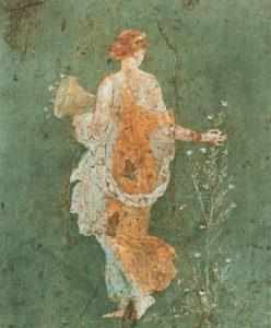 La Flora La Primavera fresco Stabiae in Villa Arianna